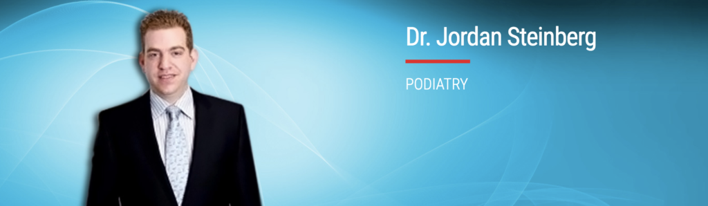 Dr. Jordan Steinberg of Florham Park Podiatry in New Jersey