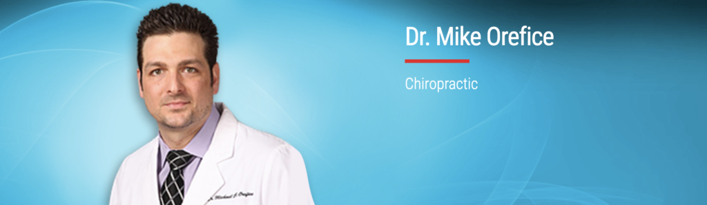 Dr. Mike Orefice of Active Health in Milford Connecticut