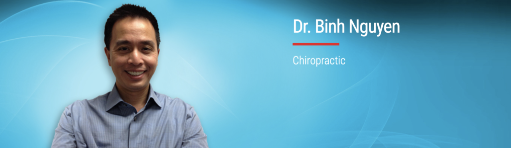 Dr. Binh Nguyen of Cedar Chiropractic and Sports in Hopkinton, MA