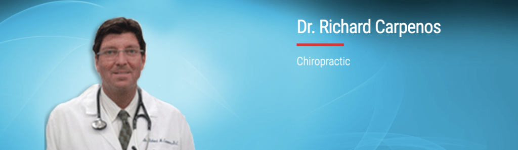 Dr. Richard Carpenos of New England Back and Spine in Connecticut