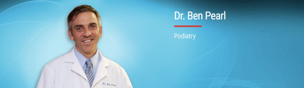 Dr. Ben Pearl of Arlington Foot and Ankle in Arlington VA