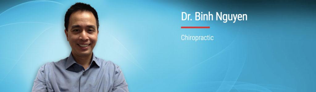 CHIROPRACTOR DR BINH NGUYEN Cedar Chiropractic Sports