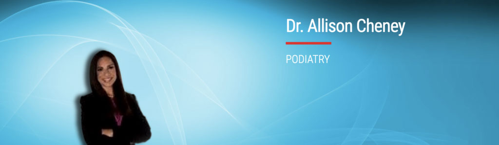 Dr Allison Cheney Podiatrist