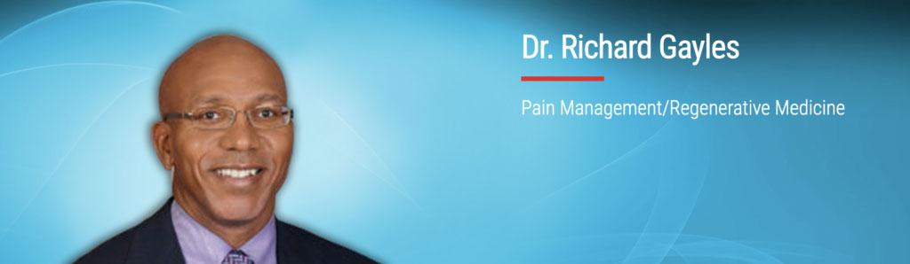 Dr Richard Gayles pain managment Nona Medical Arts Orlando Florida