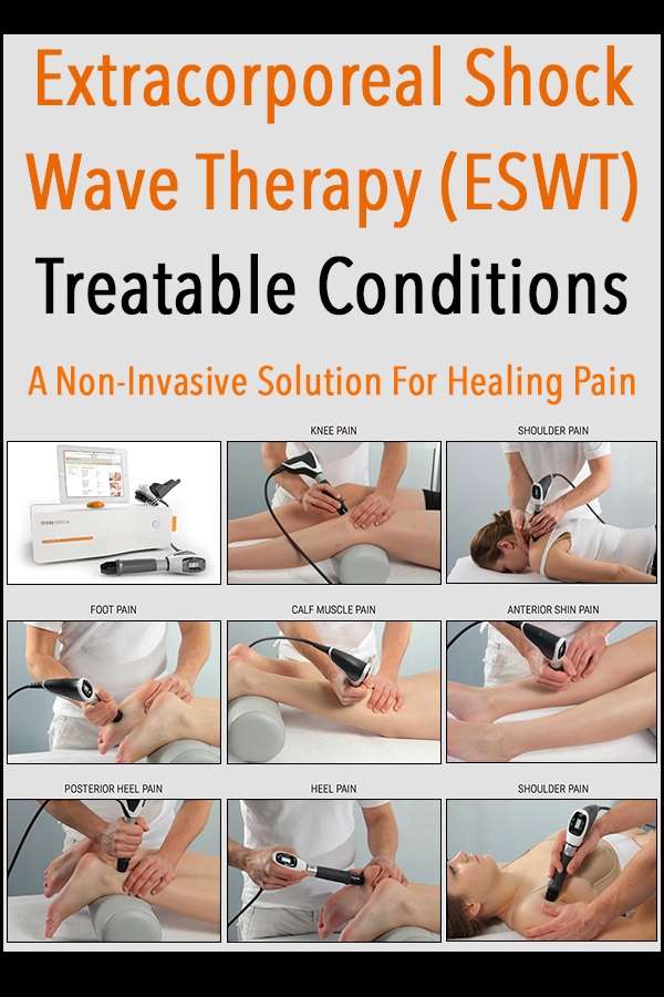Extracorporeal Shock Wave Therapy Treatable Conditions