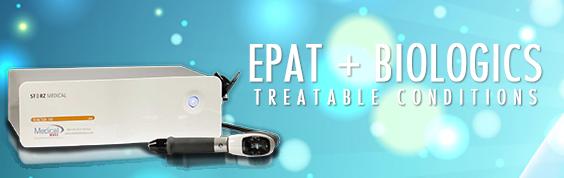 Regenerative Medicine Treatable Conditions EPAT Biologics