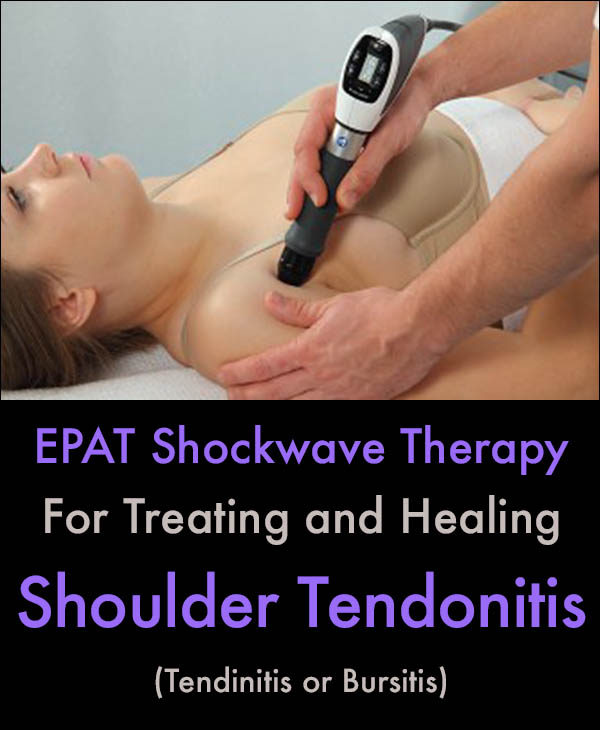 Shoulder Tendonitis Treatment With EPAT Therapy