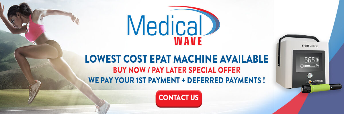 Lowest Cost EPAT Shockwave Machine by Storz Medical