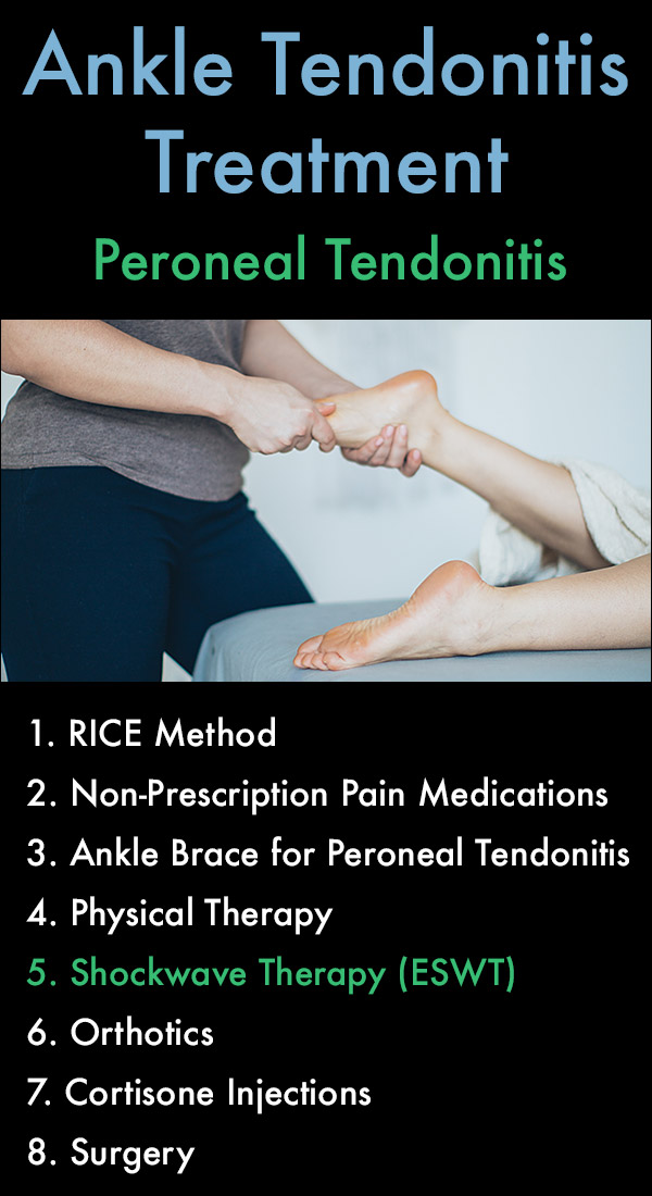 Ankle Tendonitis Treatment for Peroneal Tendonitis