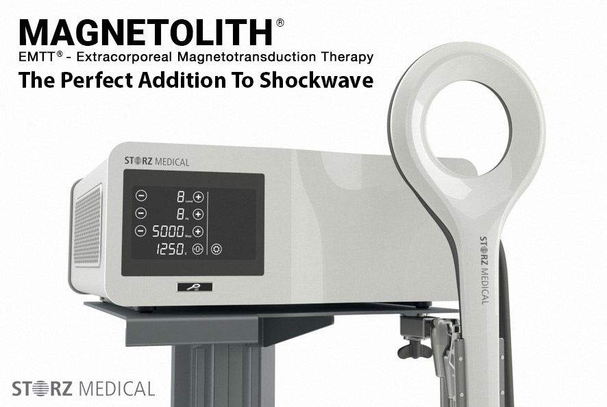 Magnetolith Extracorporeal Magnetotransduction Therapy EMTT