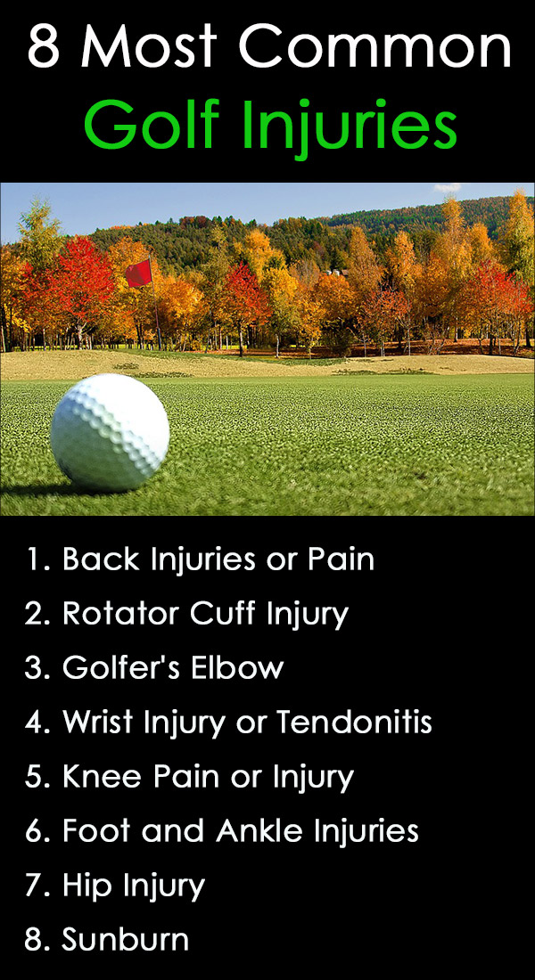 8 of the Most Common Golf Injuries